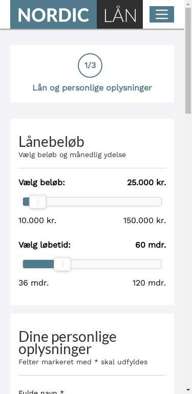 nordiclaan.dk