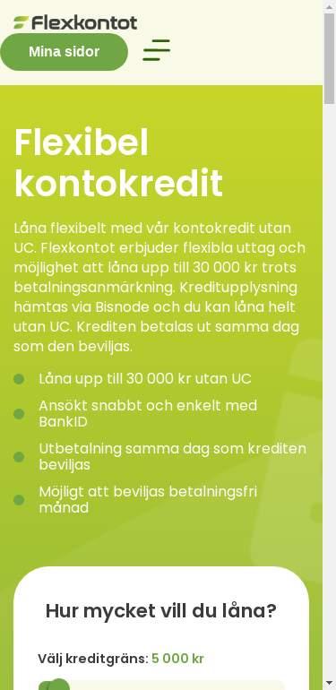 flexkontot.se