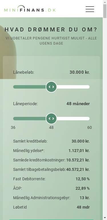 minifinans.dk